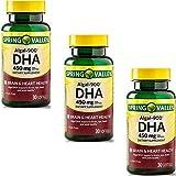 Spring Valley - ALGAL-900, DHA 450 mg, 30