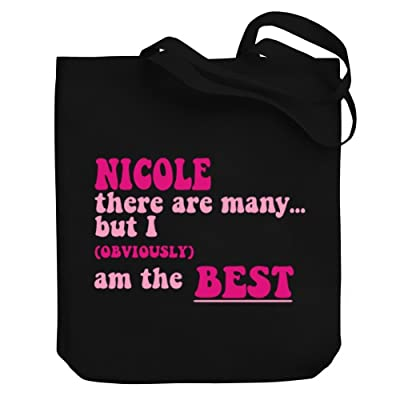 Teeburon Nicole there are many but I (obviously!) am the best Canvas Tote Bag