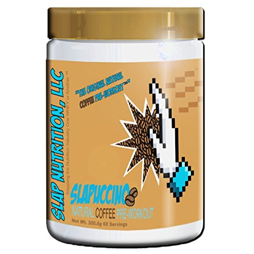Slap Nutrition Preworkout Formula - 60 Servings (Slapuccino)