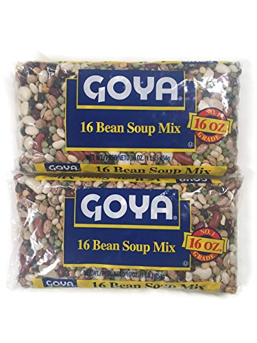 oup Mix, 16 Oz. Bags (Set of 2) (Goya Bean)