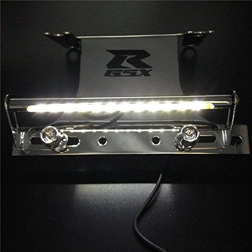 Htt cromado luz LED Fender Eliminator Tidy cola 'GSXR' logotipo para 2006 –  2007 Suzuki GSXR 600/GSX-R750