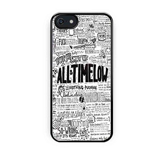 Cooliphone4Cases.com-2565-All Time Low Quotes Art iPhone 5s Case, iPhone 5 Case-B01LXXZH2Z-T Shirt Design