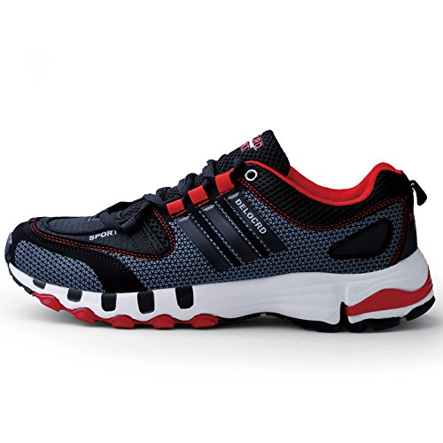 Running Shoes Sneakers for Men Fashion Sports Athletic Shoes Trainer Shoe Red