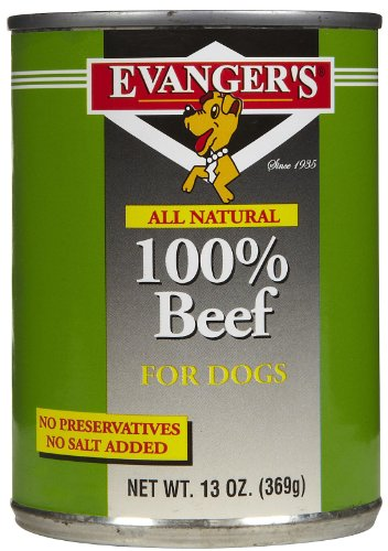 Evanger's All Natural 100-Percent Beef for Dogs, Case of 24 Review