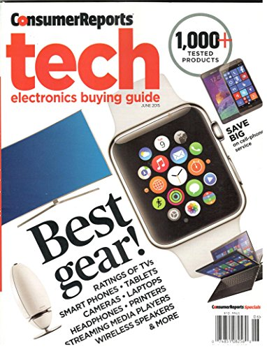 Consumer Reports Tech Electronics Buying Guide (2015)