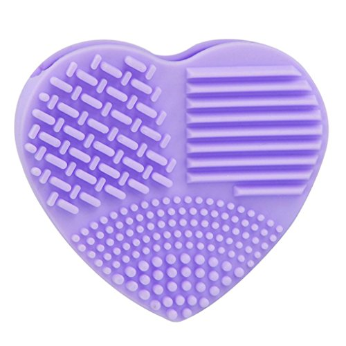 Silicone Fashion Egg Cleaning Glove Makeup Washing Brush Scrubber Tool Cleaners - Ysl 1