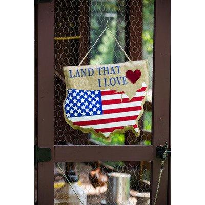 Land that I Love Door Hanger For Sale
