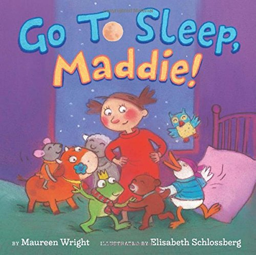 Book cover from Go to Sleep, Maddie! by Maureen Wright