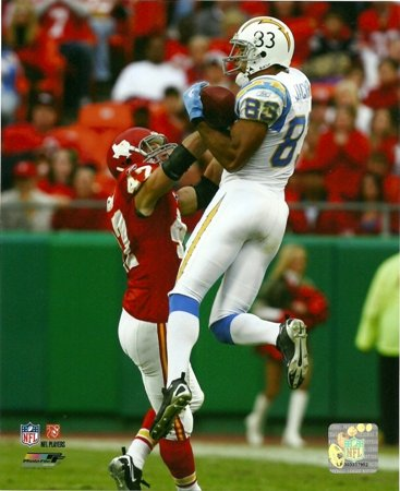 Vincent Jackson Chargers In Air Catch 8x10 Photo (Football Photo Nfl)