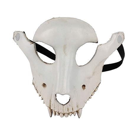 Smartcoco máscara de Calavera de Cabra Terrible, 3D, Divertida ...