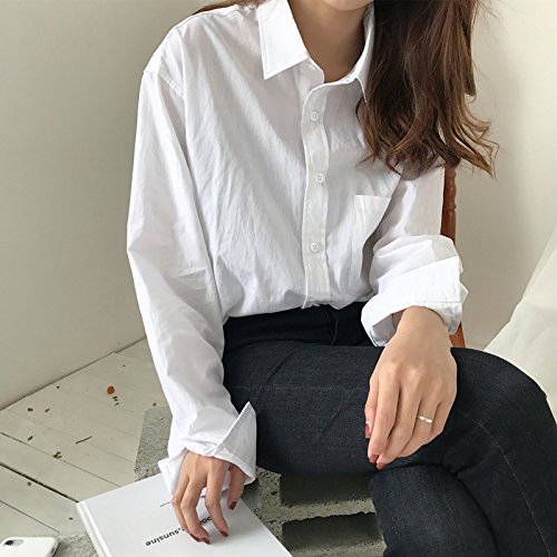 Xxin Chemise F Femme T Printempsété Et Lâcheveste Shirt Ouvert 7b6gyfIYv