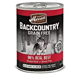 Merrick Backcountry 96 Real Beef Can Dog Food by Merrick