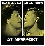 Image of At Newport (180 gram lp)- Billie Holiday & Ella Fitzgerald