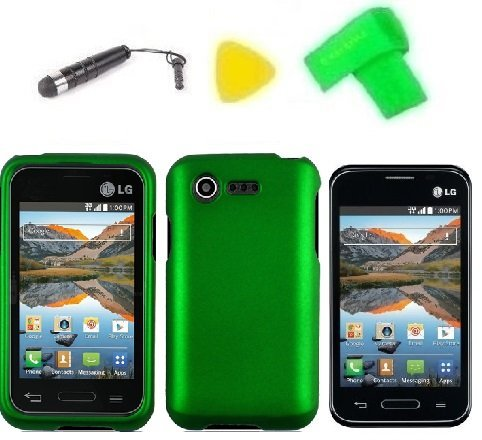 Phone Case Cover Cell Phone Accessory + Extreme Band + Stylus Pen + LCD Screen Protector + Yellow