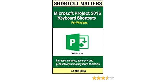 ms project key shortcuts