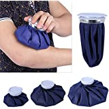 """Garden Of Arts Reusable First Aid Ice Bag Heat Pack For Knee Head Leg Pack Of 1 Big 9"""" (Colour and print May Vary)"""