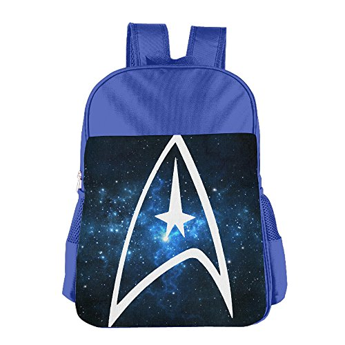 UFBDJF20 Star Trek Badge Logo Children's Lunch Bag RoyalBlue -