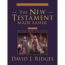 The New Testament Made Easier Volume 1 (Family Deluxe Edition) (The New Testament Made Easier (Family Deluxe Edition))