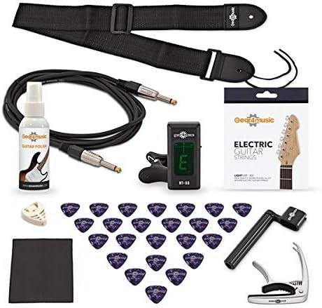 Pack Completo de Accesorios para Guitarra Electrica: Amazon.es ...