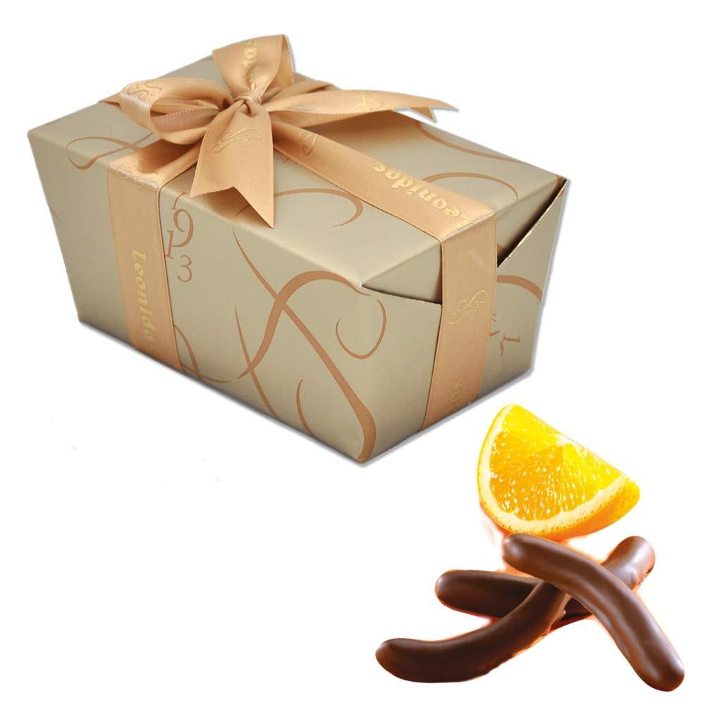 Leonidas Belgian Chocolates: 1 lb Signature Orangettes - Dark Chocolate Covered Orange Peel