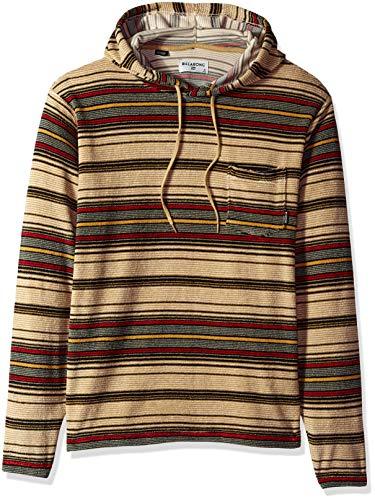 (Billabong Men's Flecker Ensenada Pullover Hoody, Khaki XL)