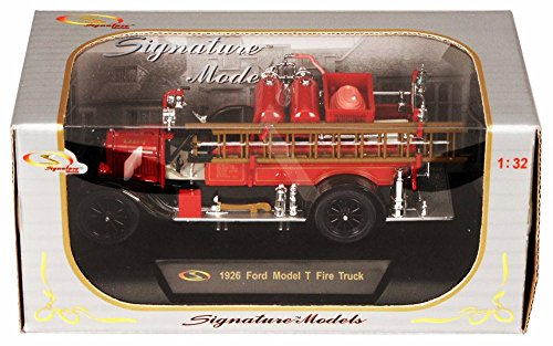 1926 Ford Model T Detroit Fire Truck SIGNATURE MODELS Diecast 1:32 Scale ()