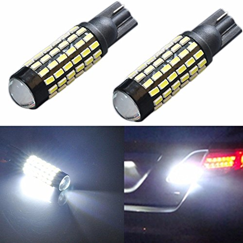 JDM ASTAR Super Bright 78-EX Chipsets 921 912 LED Bulbs with Projector For Backup Reverse Lights, Xenon White - 07 Ford F150 Projector