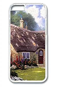 The Ancient Garden Cottage Slim Hard Cover for iPhone 5c PC Transparent Cases