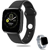 "Pulsera Deportiva Bluetooth-Limón, Reloj Inteligente Deportivo Pantalla 1.3"", IP67 Impermeable Smartband Monitor De…"