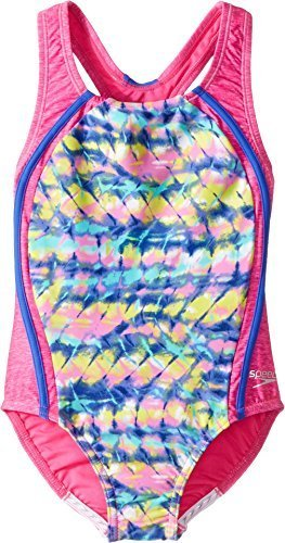 e060b9d991746 Speedo Girls Printed Sport Splice: Amazon.in: Sports, Fitness & Outdoors