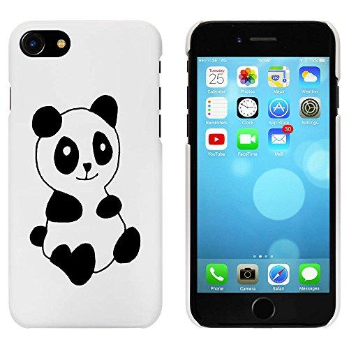 Blanc 'Panda Mignon' étui / housse pour iPhone 7 (MC00078864)