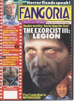 FANGORIA #94, July 1990 (The Exorcist III: Legion; Tales from the Crypt; Henry; Arachnophobia; Naked Lunch; Gremlins 2; Robocop 2)