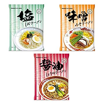 Amazon com : Certified Halal Non-fried Instant Noodle 3 types