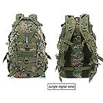 WFSH Sac À Dos Tactique Militaire 25L Large Imperméable Molle Bug Out Sac Armée 3 Jours Assault Pack 8