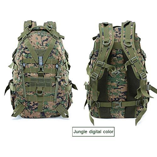 WFSH Sac À Dos Tactique Militaire 25L Large Imperméable Molle Bug Out Sac Armée 3 Jours Assault Pack 3