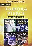 Tamora Pierce - Immortals Quartet: Wild Magic, Wolf-Speaker, Emperor Mage, The Realms of the Gods (The Immortals)
