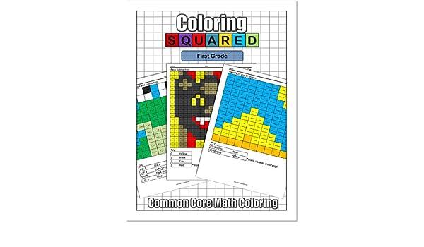 Coloring Squared First Grade Cameron Krantzman 9781939668103