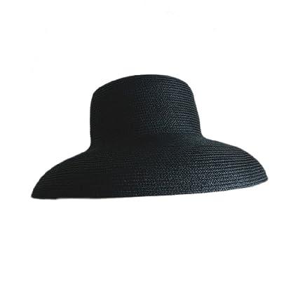 Sombrero De Sol Francés - Mujer De Verano Antiguo - Vacaciones Playa  Sombrero De Paja De 47a7259052d