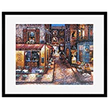 """MCS 65746 Puzzle Frame with Black Finish for Puzzle Sizes 24""""x30"""" & Smaller"""