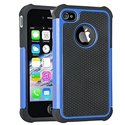 iDoer COMMUTER SERIES Case for Apple iPhone 4/4s Retail Package from iDoer