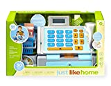 Toys R Us Just Like Home Talking Cash Register - Blue
