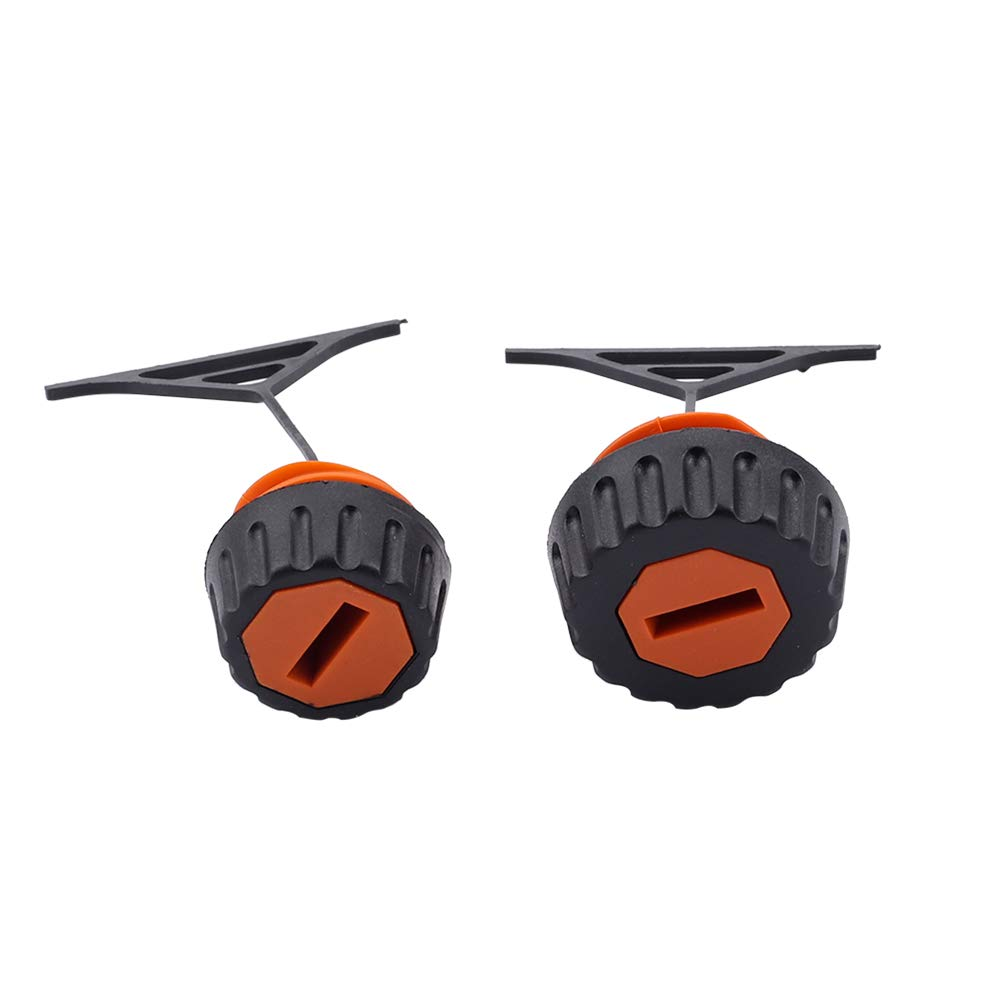Dxent Fuel Cap//Oil Cap with Fuel Filter Spark Plug for STIHL 020 020T 021 023 024 025 026 028 034 034S 036 038 048 Gas Chainsaw 0000-350-0510 0000-350-0520
