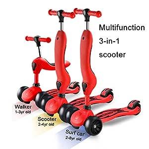 WEM Pata para scooter plegable para niños Patada ajustable ...