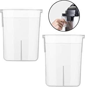 Alamic Condensation Collector for Instant Pot All Models in Size 5, 6, 8 Quart, Duo, Duo Plus, Ultra, Lux - 2 Pack