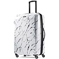 American Tourister Moonlight Hardside Expandable Luggage with Spinner Wheels (Marble