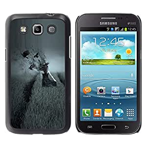 Paccase / SLIM PC / Aliminium Casa Carcasa Funda Case Cover - dark side pole vorony devushka - Samsung Galaxy Win I8550 I8552 Grand Quattro