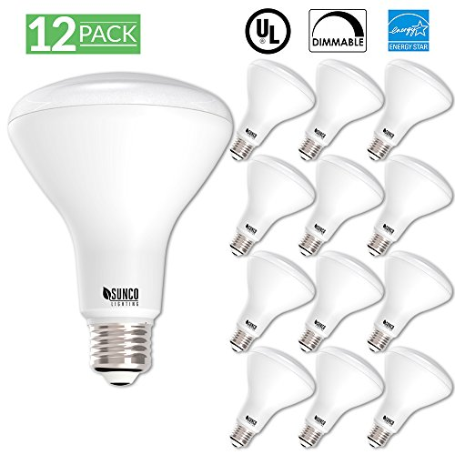 12 Pack - BR30 LED 11WATT (65W Equivalent), 5000K Daylight, DIMMABLE, Indoor/Outdoor Lighting, 850 Lumens, Flood Light Bulb, UL & Energy Star Listed (Floodlight Daylight)