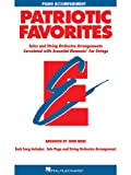 Patriotic Favorites for Strings, John Moss, 0634052837