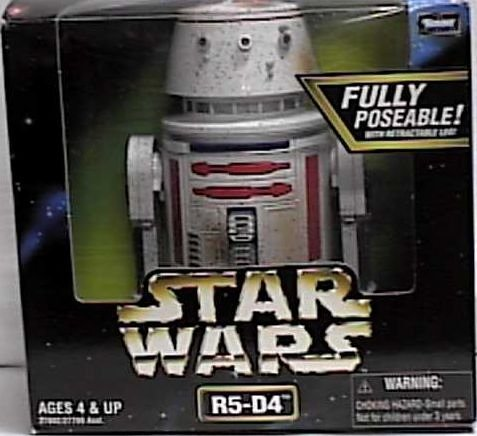 Star Wars Action Collection R5-D4 6.5 Droid Fully Poseable with Retractable Leg Kenner 6R5