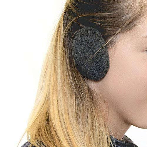 Sprigs Earbags Bandless Ear Warmers/Fleece Earmuffs with Thinsulate - Gray, -